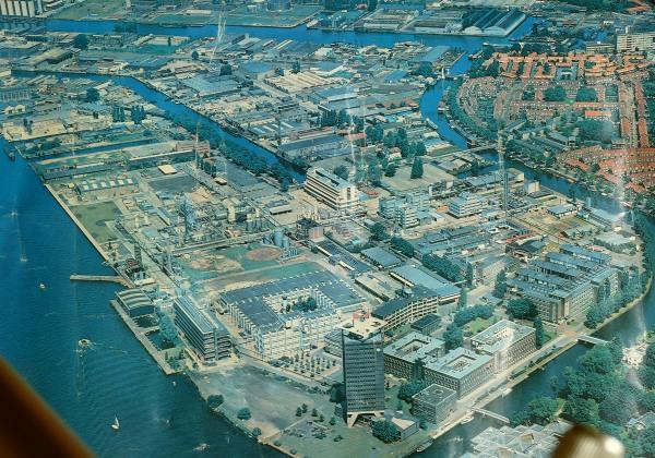 KSLA in 1981 ten tijde dat het CDL werd opgeleverd